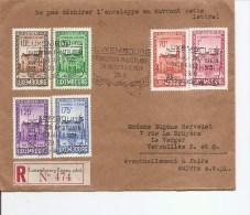 Luxembourg - Exposition Philatélique ( Lettre En Recommandé De 1936 Vers La France à Voir) - Luxembourg