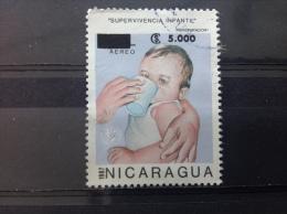 Nicaragua - Unicef Kinderen (opdruk 5000) 1987 - Nicaragua
