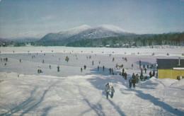 Mirror Lake Skating Rink, White Face Mountain, LAKE PLACID, New York, PU-1962 - Non Classificati
