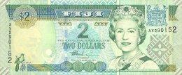 Fiji 2 Dollar 2002 Pick 104 UNC - Fidji