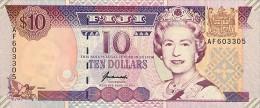 Fiji 10 Dollar 1996 Pick 98 UNC - Fidji