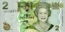 Fiji 2 Dollar 2006 Pick 109 UNC - Fidji