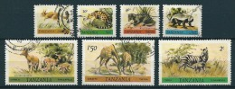 Tansania 1980  Tiere  Part Set  Ex Mi. 161/69  Gestempelt / Used - Tansania (1964-...)