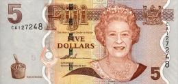 Fiji 5 Dollar 2006 Pick 110 UNC - Fidji