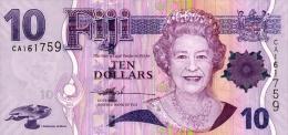 Fiji 10 Dollar 2006 Pick 111 UNC - Fidji