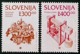 PATRIMOINE CULTUREL SLOVENE 1994 - NEUFS ** - YT 91/92 - MI 97/98 - Slovenië