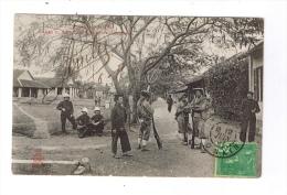 TONKIN  -  Entrée Du Camp Des Tirailleurs Tonkinaois  -  Cachet HANOÏ  -  TONKIN  -  1907 - Postcards