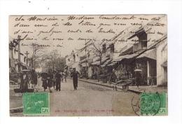 TONKIN  -  Hanoï - Rue Des Pipes  -  Cachet HANOÏ  -  TONKIN  -  1907 - Cartes Postales