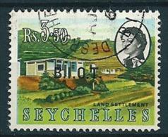 B.I.O.T. 1968  Aufdr. Auf Seychellen  3,50 R  Mi. 13  Gestempelt / Used - Britisches Territorium Im Indischen Ozean