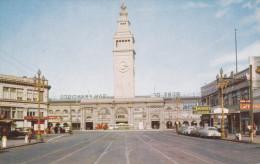 Ferry Building, Enbarcadero And Market, SAN FRANCISCO, California, 40-60´s - San Francisco