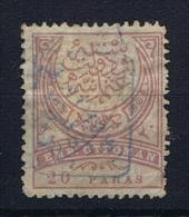 Turquie / Turkey: 1891 ISF Nr 148,  Mi  65 Used / Obl. - Gebruikt
