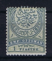 Turquie / Turkey: 1890  Ifs 138 Mi 61 A,  Not Used (*) - Ungebraucht