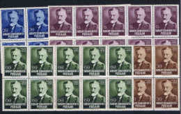 Turquie / Turkey: 1952  Isf  1674-7  Mi 1313-16  In Sheets Of 10 Stamps MNH/** - 1921-... République