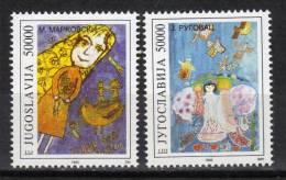 Yugoslavia,Children For Piece 1993.,MNH - 1992-2003 Federal Republic Of Yugoslavia