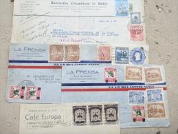 S6-Colombie, 5 Lettres , Par Avion Vers 1938 - Colombia