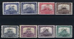 Turquie / Turkey: 1922 Isf. 1071-1080, Mi Nr 779 -786 , MH/*  Signed/ Signé/signiert/ Approvato - 1921-... République