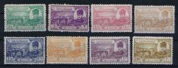 Turquie / Turkey: 1924 Isf. 1129-1136, Mi Nr 799 -806 , MH/* - Unused Stamps