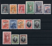 Turquie /Turkey:1928 Isf.1188-1201,Mi Nr 868 -881 , 1193+1200+1201 (mi 880+881+873) Are MNH/** Rest MH/* - 1921-... Repubblica