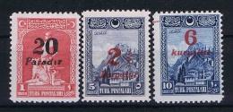 Turquie /Turkey: 1929 Isf. 1202-1204 ,Mi Nr 882-884 , MNH/** - 1921-... République