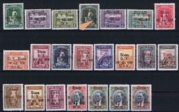 Turquie /Turkey: 1930 Isf. 1233 - 1254 ,Mi Nr 913 - 934 , MH/* , 1,5 K Plate Error 309 Instead Of 930 - 1921-... Republic