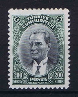 Turquie /Turkey: 1930 Isf. 1231 ,Mi Nr 911 , MH/* - 1921-... Republic