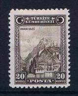 Turquie /Turkey: 1930 Isf. 1225 ,Mi Nr 905 , MH/* - 1921-... Republic