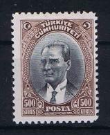 Turquie /Turkey: 1930 Isf. 1232 ,Mi Nr 912 , MH/* - 1921-... Republic