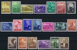Turquie /Turkey: Isf. 1480-99, Mi. Nr 1113-32 MH/*  1942 - 1921-... Republic