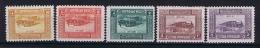 Turquie /Turkey:  1926 Isf. 1172-1176, Mi Porto 52-56 3+5 G Are MNH/**, Rest Is MH/* - Unused Stamps