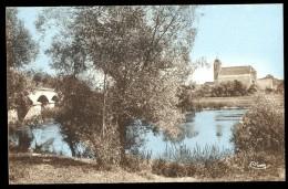 Cpa Du 70 Broyes Les Pesmes Bords De L´ Ognon Et L' église   MAI17 - Pesmes