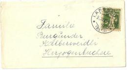 Brieflein  Langnau I E - Herzogenbuchsee  (183z)        1933 - Schweiz