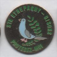Ville D' Etrépagny - Gisors , Oiseau Pigeon Voyageur , Eure - Cities