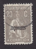Azores, Scott #193, Used, Ceres Overprinted, Issued 1924 - Açores