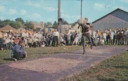 Steinstossen, Stone Tossing, Sport In Switzerland, Swiss Festival, SUGARCREEK, Ohio, 40-60's - Etats-Unis