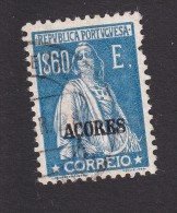 Azores, Scott #230, Used, Ceres Overprinted, Issued 1925 - Azores