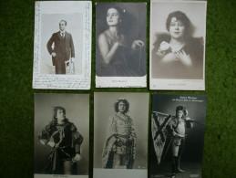 A2765) Schauspiel / Kunst 37 Alte Künstlerkarten Mit Sängern / Schauspielern - Ansehen ! - Cartes Postales
