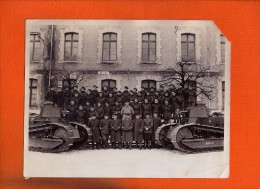 1 Photo Ancienne 502 Em Régiment De Chars De Combat 23,5 X 18cm - Guerre, Militaire