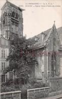 76 - ROUEN - Eglise Saint Pierre Du Chatel - Dos Vierge  - 2 Scans - - Rouen