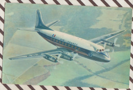 E221 AIR FRANCE VICKERS VISCOUNT - 1946-....: Moderne