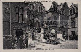 [45] Loiret > Orléans  Les Fêtes De Jeanne D'Arc 7 Et 8 Mai Présentation De L'Etendard à L'Hôtel De Ville - Orleans