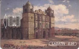 MEXICO - Painting, Paisaje S.Xix/Catedral De Oaxaca 1887(2/6), Used - México