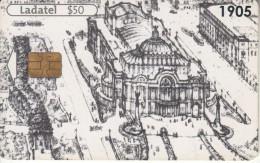 MEXICO - Palacio De Ballas Artes 1905, Used - México