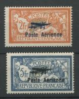 France Avions 1 Et 2 * Avec Charnière   Cote 500 €  Premier Choix - Poste Aérienne