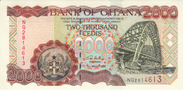 GHANA 2000 Cedis 2003 UNC P33h - Ghana