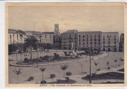 CARD EBOLI MONUMENTO AI CADUTI   (SALERNO)      -FG-V-2-  0882-20687 - Italie