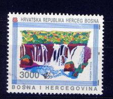 Bosnien Herzegowina Kroatische Post Nr.9         O  Used       (006) - Yougoslavie