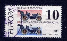 Bosnien Herzegowina Kroatische Post Nr.18         O  Used       (010) - Yougoslavie
