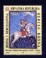 Bosnien Herzegowina Kroatische Post Nr.10         **  Mint       (008) - Yougoslavie