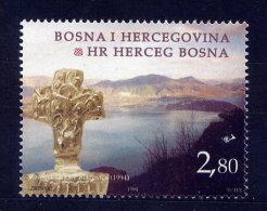 Bosnien Herzegowina Kroatische Post Nr.13         **  Mint       (009) - Yougoslavie