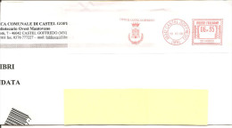 ITALIA - 2006 Comuni D'Italia: CASTEL GOFFREDO (MN) - Stemma: CASTELLO - Affrancatura Meccanica Rossa Red Meter - Marcophilie - EMA (Empreintes Machines)